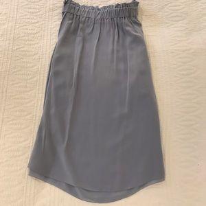 Aritzia silk skirt